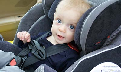 draaibare autostoel baby